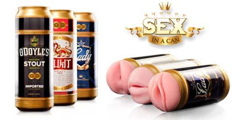 Sex in a Can mallit ovat juomatölkiksi naamioituja tekopilluja