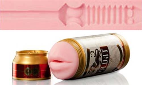 Mini Swallow Fleshlight Sex in a Can insertti
