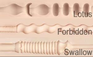Lotus, Forbidden ja Swallow insertit